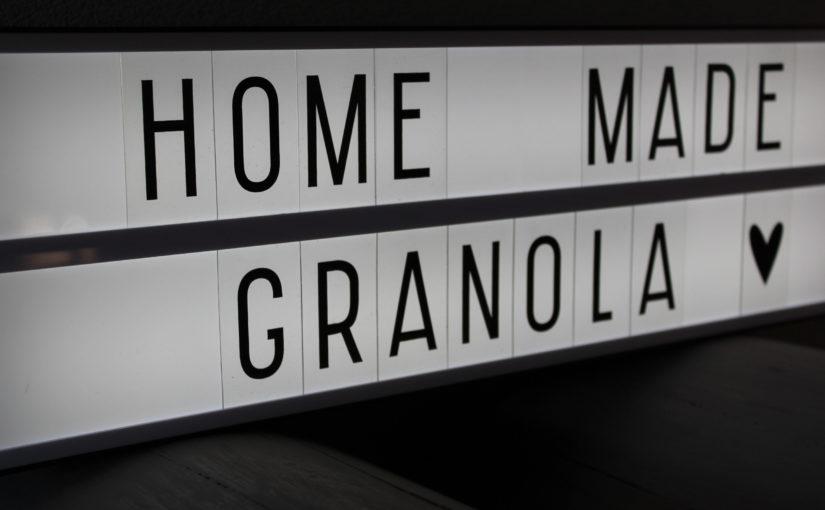 DO | HOMEMADE GRANOLA