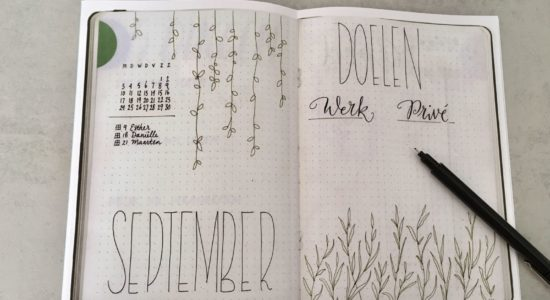 DO | START EEN BULLET JOURNAL