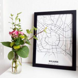 stadskaart Milaan